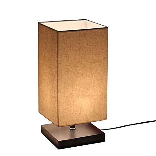 uropäischen Modernen Minimalistischen Massivholz Tischlampe Nachttischlampe Lesestudie Arbeitslampe Licht ()