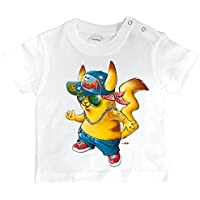 Pixel Evolution Baby T-Shirt 3D Pika Urban Style In Augmented Reality Baby
