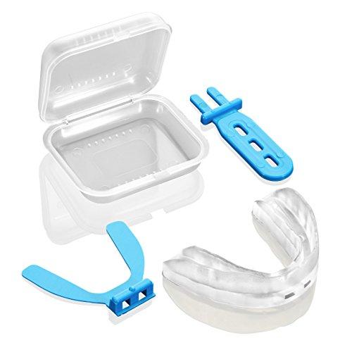 Knirscherschiene SoluBrux - Patentierte Innovation, 2 JAHRE GARANTIE (Farblos-transparent) -