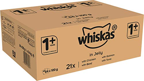 Whiskas 1+ Cat Food Pouches Mixe...
