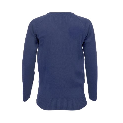Blue Max Banner - Pull - Col V - Garçon Bleu (Royal Blue)