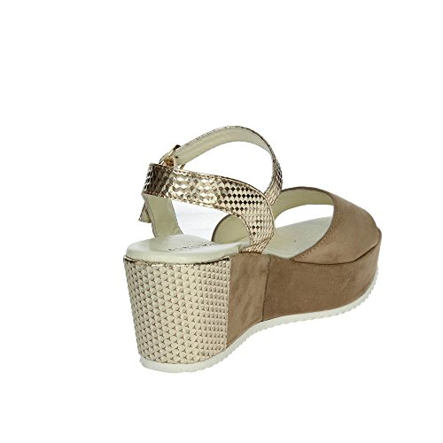 Cinzia Soft IR1210 006 Sandale Femme Marron Taupe