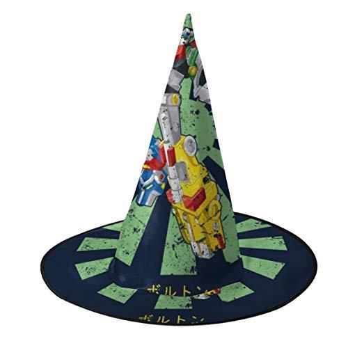 NUJSHF Voltron Löwe Macht Retro Japanische Hexe Hut Halloween Unisex Kostüm für Urlaub Halloween Weihnachten Karneval Party -