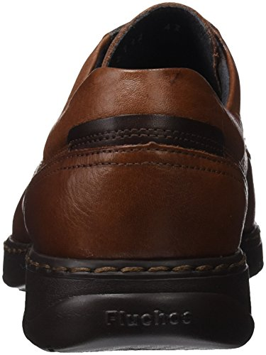 Fluchos- Retail Es Spain Mens Crono Derby Shoes Brown (libano)