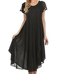 Sakkas Femmes Everyday Essentials Cap manches robe Caftan et Cover Up