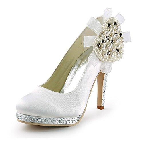 Minitoo , Escarpins pour femme White-10cm Heel
