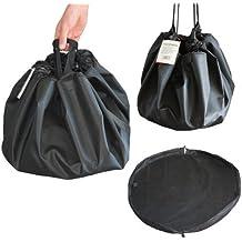 Frostfire Moonbag - Alfombrilla y bolsa resistente 2 en 1 para deportes acuáticos y al aire libre, color negro