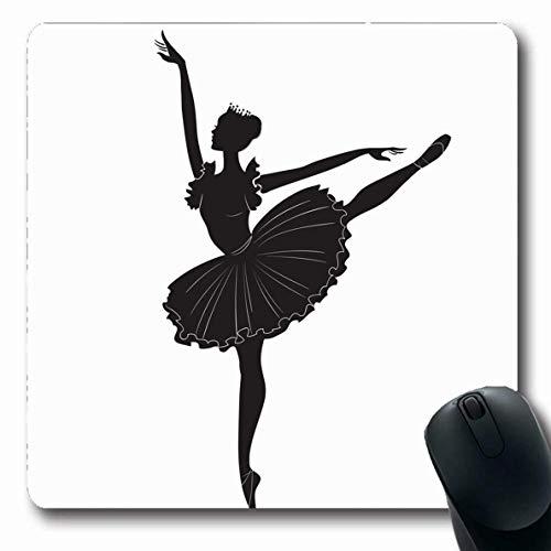 Kostüm Design Umriss - Mousepads Umriss Ballett Zeichnung Ballerina