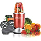 Magic Bullet Nutri Bullet 600 W 12-Piece Hi-Speed Blender and Mixer System, Red