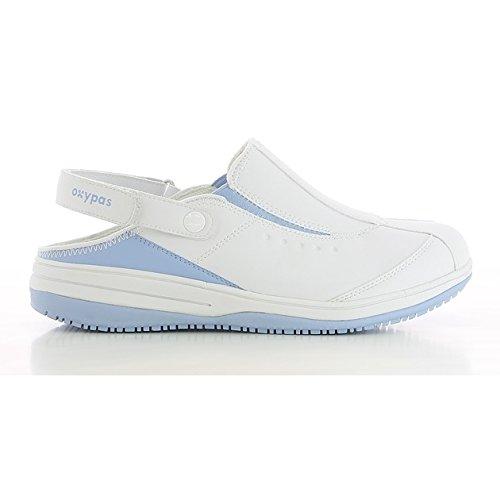 Oxypas Scarpe di sicurezza  da  donna,Bianco (White (Fux)) ,36.5 EU Bianco (White (Lbl))