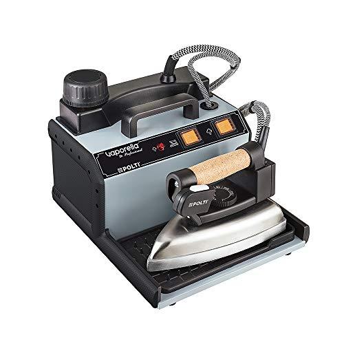 Polti vaporella 2h professional ferro da stiro a vapore con caldaia, tappo di sicurezza, 3 bar