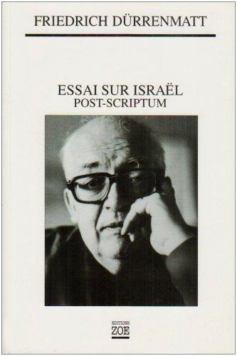 Essai sur Israël. Post-scriptum
