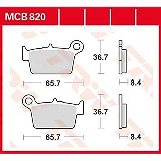 Bremsbelag Lucas MCB820 für Beta Alp 125 | Beta Alp 200 | Beta Alp 4.0