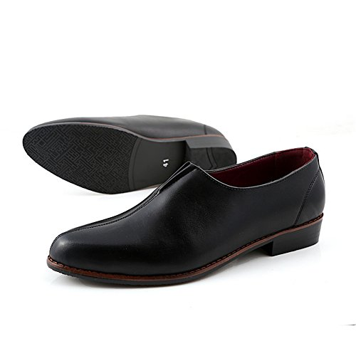 XiaoYouYu  Loafers, Basses homme Noir