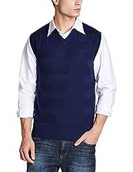 Lee Mens Cotton Sweater (8907649224595_L29004J24E4100M_Jsw-Peacoat)