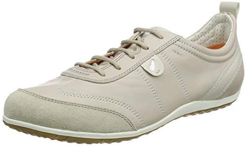 Geox Damen D Vega a Sneakers, Beige (LT TAUPEC6738), 42 EU
