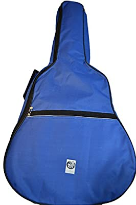 Dark Blue PADDED GUITAR BAG/ CARRY CASE (38 inches)