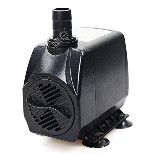 BACOENG 220V Mini Fontana Pompa Acqua Acquario Sommergibile Pompa 200/600/1000/2000/2500LPH (2000L/h)