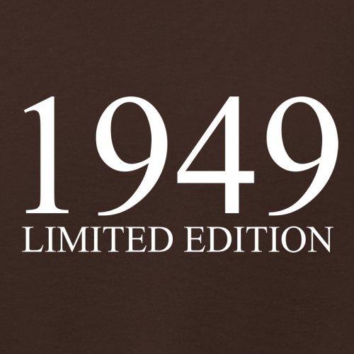 1949 Limierte Auflage / Limited Edition 68 Geburtstag Damen TShirt 14 Farben  Dunkles Schokobraun