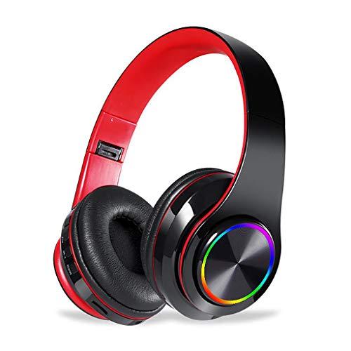 【Verbesserte】Bluetooth Kabellos Kopfhörer Noise Cancelling - Neubula HiFi Stereo Sound Drahtlose Headset Over Ear mit Mikro Lautstärkeregler für Alle Geräte mit Bluetooth oder 3,5 mm Klinkenstecker
