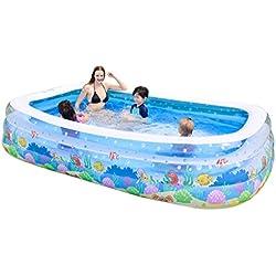 Kinderbecken Aufblasbare Familie Baby Adult Home Pool Verdickter Kinderpool Pool Kann 1-6 Personen unterbringen