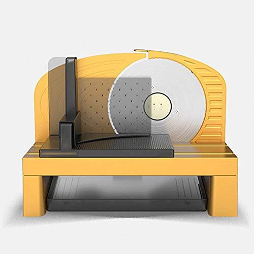 "PICKME Allesschneider Elektrische Schneidemaschine Mit Abnehmbarem 6.7"" Edelstahl-Blatt, Delikatessen Käse-Frucht-Gemüse-Brot Elektrohobel"