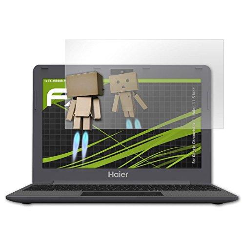atFolix Bildschirmfolie kompatibel mit Google Chromebook 11 Haier, 11.6 Inch Spiegelfolie, Spiegeleffekt FX Schutzfolie
