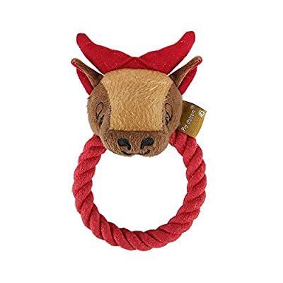 Squeak Dog Toy Pet Rope Chew Toys For Small Medium Large Dogs
