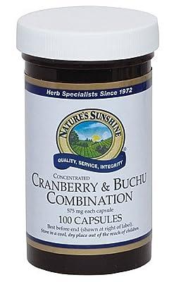 Cranberry & Buchu Combination Capsules (100) by Nature's Sunshine