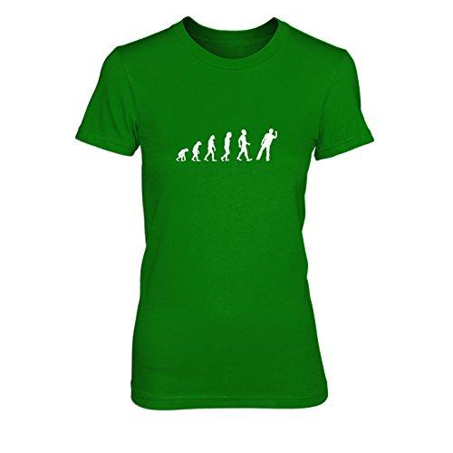 Dart Evolution - Damen T-Shirt Grün