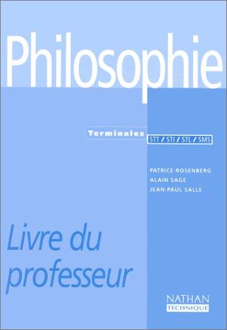 Philosophie - terminale STT, STI, STL, SMS