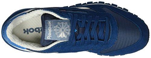 Reebok Classic Leather Camp, Sneakers basses homme Bleu (Royal Slate/Noble Blue)