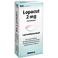 LOPACUT 2 mg Filmtabletten 10 St preisvergleich bei billige-tabletten.eu