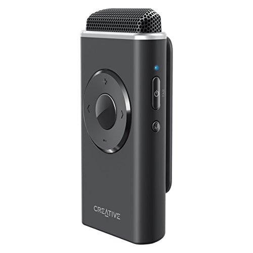 Creative Labs iRoar Mic - Proyector de Voz inalámbrico con Amplificador de emociones, Color Negro