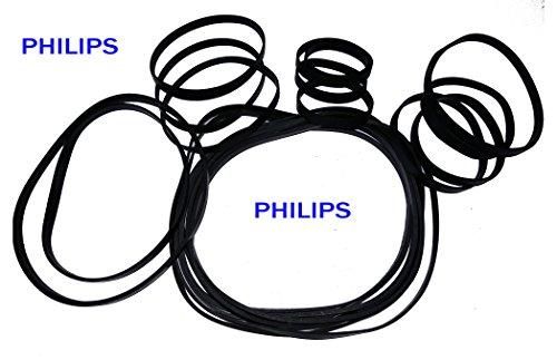 PHILIPS 20 Mixed Random Sizes & Width Rubber Drive Belt