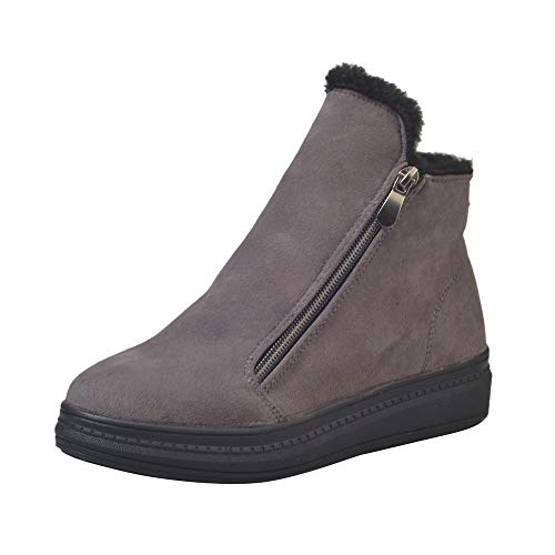 Vovotrade 卐 Scarpe Invernali da Donna Alte, Stivali da Donna e Stivali da Neve Caldi in Velluto con Stivaletti da Donna