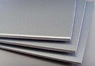 Invento 1pcs Al Aluminium Alloy 2mm Plate/Sheet- 300x300x2mm - for DIY Projects