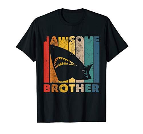 Jawsome Hemd Kleinkinder Jungen Lustige Bruder Hai Kostüm T-Shirt (Hai Kostüm Für Kleinkind)