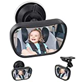 Bambino Vista Posteriore Specchio, Specchietto Retrovisore Bambino,Specchio per Auto Sedile Posteriore Specchio, Specchio Auto Regolabile per Bambini Specchietto per Sedili Posteriori