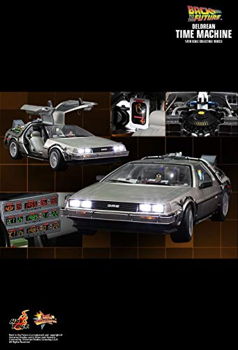 Hot Toys MMS260 - Back to The Future - Delorean Time Machine (Back To The Future Time Machine)