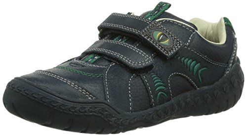 Clarks Stomp Claw, Chaussures de ville garçon Bleu (Navy)