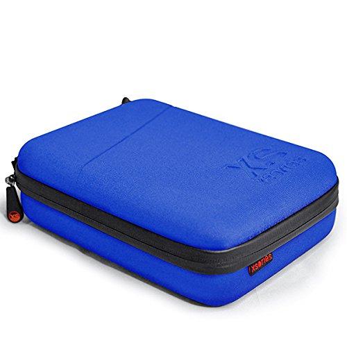 X-Sories Foto Video Capxule Soft Case, Blau, 17 x 6.5 x 21.5 cm, CAPX1.1 Blue Video Soft Case