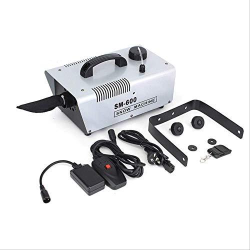 Schneespray Wbdd 110v/220v 600wwired Remote Für Urlaub Bühne Schneemacher Spray Schnee Seife Schaum Maschine 220v -