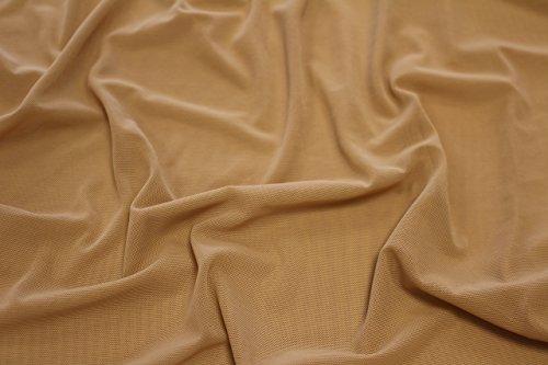 Stoff Power Mesh, in alle Richtungen dehnbar, Breite 150cm beige - 2