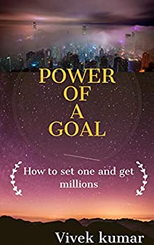 Book cover image for POWER OF A GOAL: HOW TO SET ONE AND GET MILLIONS