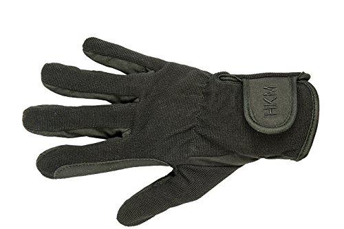 HKM Damen Reithandschuhe Special Handschuhe, schwarz, M