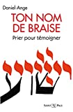 Telecharger Livres Ton nom de braise (PDF,EPUB,MOBI) gratuits en Francaise