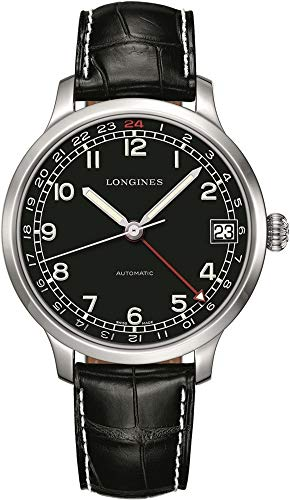 New Longines Heritage Military GMT Men's Automatic Watch