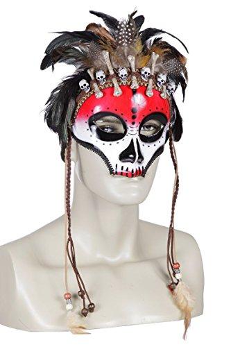 ke Voodoo Priester Karneval Halloween (Halloween Priester Kostüm)