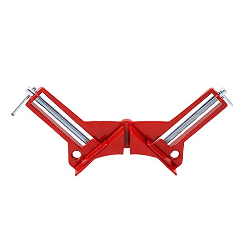 VWH Corner Clamps 90 Degree Right Angle Corner Clamp For Wood Working Metal DIY Glass Picture Framing Jig Test